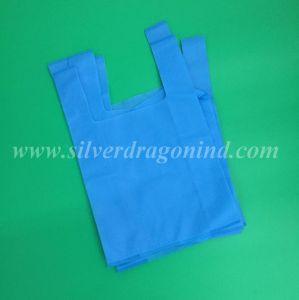 Verschiedene bunte nicht gesponnene Gewebe-Einkaufen-Beutel für das Verpacken