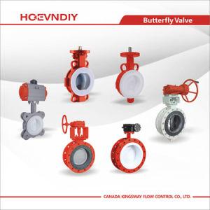 Válvula de mariposa de alta calidad Hoevndiy