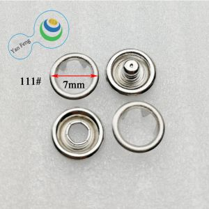 Liga de 8 mm do botão de encaixe de óleo em spray de latão para blusas/vestuário/Jeans