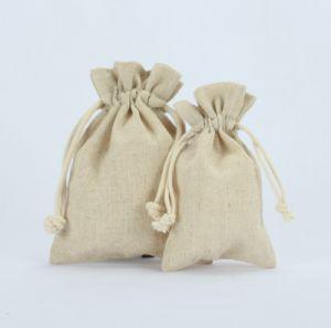 卸し売りバーラップのハンドバッグのドローストリングのギフトの袋袋のジュート袋(1706年)