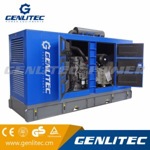 물에 의하여 냉각되는 디젤 엔진 발전기 세트 375kVA 300kw (FAWDE CA6DN1J-45D)