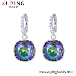 De Juwelen van de Kristallen van de Kleding van het Huwelijk van Swarovski van de manier in Geplateerd Goud