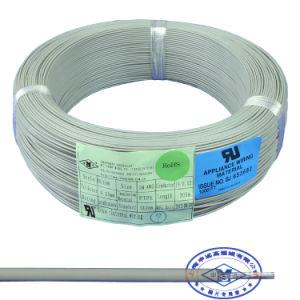 Серебряный позолоченный медный PTFE изолированный провод с высокой температурой