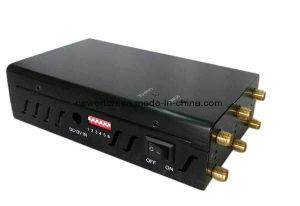 6 banda potente 4G LTE, 3G, portátil de la señal de celular Jammer Breaker