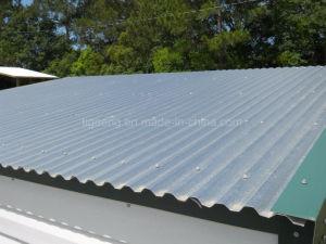 L'aluminium recouvert de zinc de feuilles de carton ondulé en acier galvalume tuile de toit