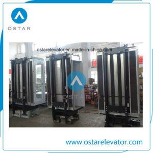 L-cabina de forma personalizada para el ascensor de pasajeros no estándar (OS41).