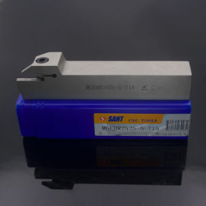 Outil à tronçonner indexable&rainurage Mgehr2525-5-T15 avec Mgmn500-M Insert