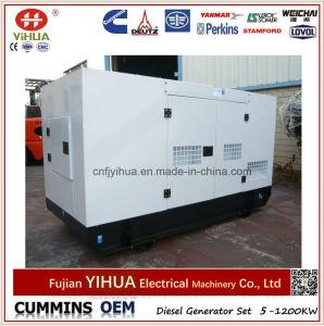 gerador Diesel silencioso de 40kw/50kVA Yto com ATS (25-320kW)