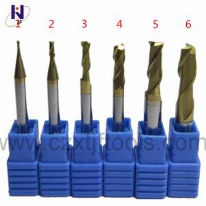 Flöten des werkzeugmaschine-quadrieren feste Karbid-4 Enden-Tausendstel-Scherblock Tixco Beschichtung