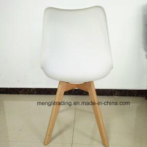 ブナの森の足の十字様式のチューリップのプラスチック椅子
