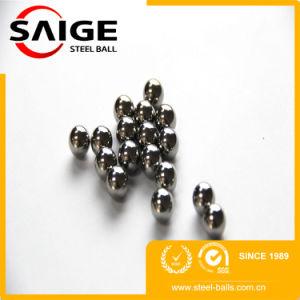 Diapositiva la sfera d'acciaio a basso tenore di carbonio di 4.80mm AISI1015 G100