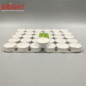 Weiße Unscented 12g 4hour Alaun-Cup Tealight Kerze von China