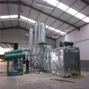 使用された手段オイルの再生装置