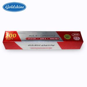 Горячие продажи продовольствия из алюминиевой фольги упаковочная бумага для барбекю