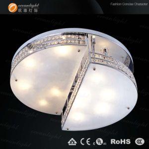 Lustre de teto de cristal moderna iluminação (OM0008)