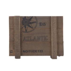 Avec affichage Vintage Vintage Boîte de lignes réseau