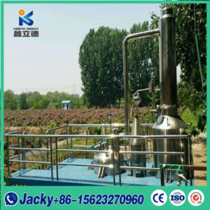 Aceite Esencial de vapor de acero inoxidable que hace la máquina de China