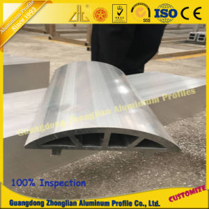 Extrusión de perfiles de aluminio industrial para la estructura del edificio