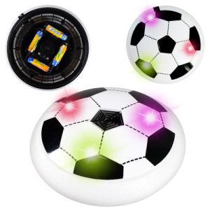 El juego de bola al aire libre de interior de la libración del balompié del fútbol de la potencia de aire con los parachoques de la espuma y enciende para arriba el LED