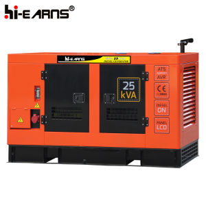 Wassergekühltes leises Dieselmotor-Generator-Set (GF-25kVA)