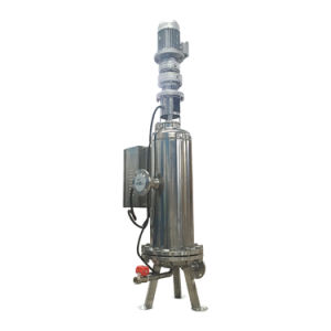 Multi-Kassette Edelstahl-selbstreinigender Sediment-Wasser-Filter