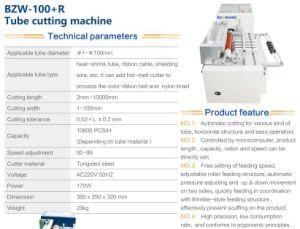 Scherpe Machine van de Pijp van Bozwang de Automatische