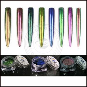 オーロラの粉のChromaflairのユニコーンの虹の顔料のクロムミラーのカメレオンの顔料