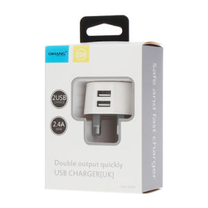 2.4A UK системы мобильного телефона USB адаптер зарядного устройства для iPhone и Android