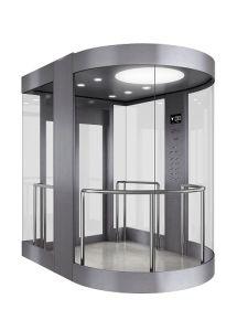 [فّفف] تحكّم بطاقة مصعد شامل رؤية مع آلة غرفة