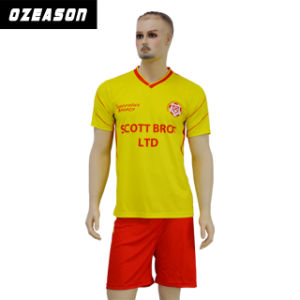 9b55f6cedbe1d Equipo de juveniles de diseño libre Reversible Camiseta de fútbol de  sublimación (S004)