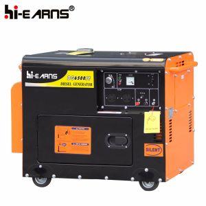 gruppo elettrogeno silenzioso di potenza di motore diesel 2-10kw (DG5500SE)