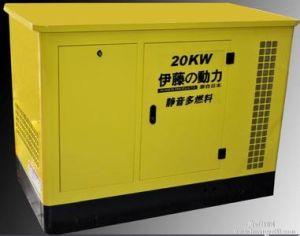 Doosan Engine Daewoo 발전기에 의해 강화되는 330kw 침묵하는 디젤 엔진 발전기