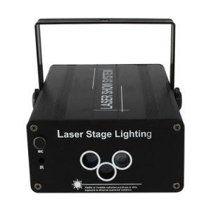 Aluminiumlegierung-Selbststeuerweihnachten-RGB-Stadiums-Laserlicht