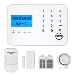 Het draadloze Alarm van de Veiligheid van het Huis van het Scherm GSM+PSTN van de Aanraking