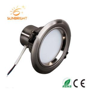 precio de fábrica 7W 12W 15W 20W 30W 40W LED de aluminio abajo de la luz de techo