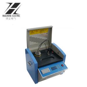 自動クリーニングの変圧器オイルの誘電性損失およびボリューム抵抗のテスター
