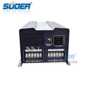 Suoer 24/48V 50A 5KW PWM de baixa frequência Inversor de Potência da onda senoidal com visor LCD