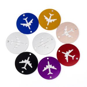 Negro/Rojo/azul/verde, naranja, amarillo, color blanco y metal de la etiqueta de equipaje