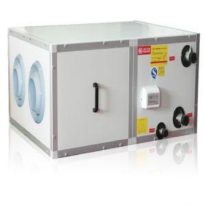 La unidad de manejo de aire de tipo horizontal