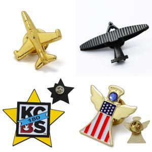 昇進項目試供品の安い卸し売り紋章のカスタム金の人のバルクロゴの金属の昇進のギフトのための堅く柔らかいエナメルのバッジの折りえりPin