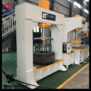 6.00-9 7,00-12 Bastidor H Móvil Gantry Montacargas Industriales Máquina de prensa de neumáticos para neumáticos macizos
