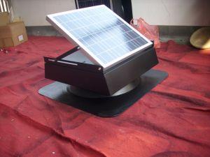 25 Вт аккумулятор солнечной энергии на чердак электровентилятора системы охлаждения двигателя с помощью экранированного Бесщеточный двигатель постоянного тока