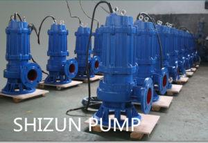 수직 원심 산업 내수성 잠수할 수 있는 하수 오물 수도 펌프