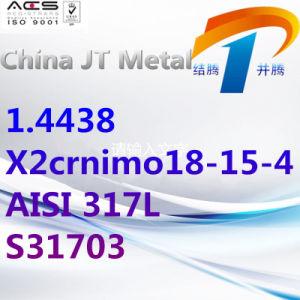 1.4438 x2crnimo18-15-4 de Staaf van de Pijp van de Plaat van het Staal AISI 317L S31703, de Leverancier van China