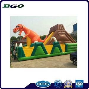 Lona de PVC Encaracolados Inflatables desliza brinquedos