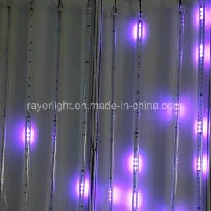 LED-Meteor-Dusche beleuchtet Garten-Dekoration-musikalische Weihnachtsverzierungen