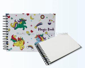 Espiral personalizado capa dura impressa Papelaria Nota livro A4/A5/A6: 100 folhas
