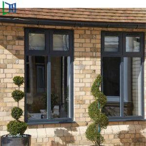 Home diseño de interiores de aluminio Ventana corrediza de vidrio con Hardware de Alemania