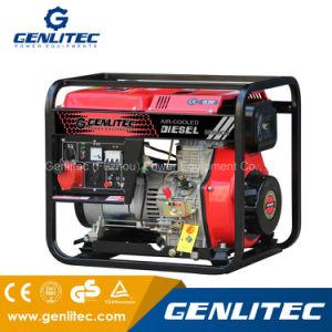 Generatore diesel portatile di inizio elettrico raffreddato aria di monofase 2.8/3.0kw