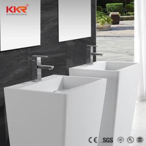 lacrylique surface solide de lacrylique salle de bain vier en pierre artificielle du bassin de la rsine
